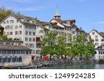 zurich  swiss confederation... | Shutterstock . vector #1249924285