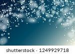falling snow background.... | Shutterstock .eps vector #1249929718