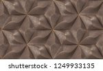 brown geometry tiles with gold... | Shutterstock . vector #1249933135