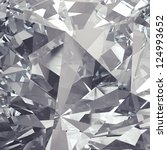 crystal facet background | Shutterstock . vector #124993652