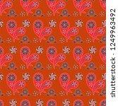 paisley seamless pattern....   Shutterstock .eps vector #1249963492
