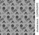 paisley seamless pattern....   Shutterstock .eps vector #1249963495