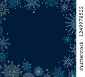vector christmas banner in...   Shutterstock .eps vector #1249978522