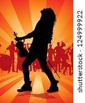 violin player | Shutterstock . vector #124999922