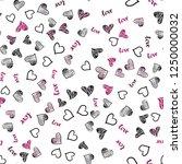 dark pink vector seamless... | Shutterstock .eps vector #1250000032