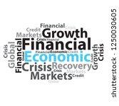 text cloud. business wordcloud. ... | Shutterstock . vector #1250030605