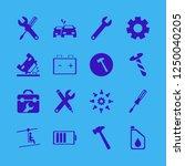 mechanic icon. mechanic vector... | Shutterstock .eps vector #1250040205
