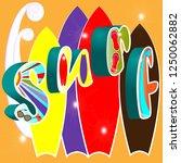 vector illustration of three... | Shutterstock .eps vector #1250062882