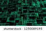 hud interface with neon effect  ...   Shutterstock . vector #1250089195