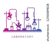 education and science concept.... | Shutterstock .eps vector #1250089828