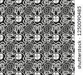 seamless geometric ornamental... | Shutterstock .eps vector #1250090485