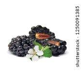 fresh  sweet and tasty... | Shutterstock .eps vector #1250091385