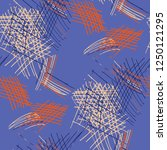 various hatches. seamless... | Shutterstock .eps vector #1250121295