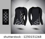 visual drawing set of elastic... | Shutterstock .eps vector #1250151268
