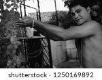 young bharatnatyam male artist... | Shutterstock . vector #1250169892