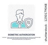 vector graphic set. editable... | Shutterstock .eps vector #1250179048