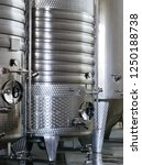 modern wine factory with new... | Shutterstock . vector #1250188738