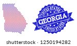 geographic composition of... | Shutterstock .eps vector #1250194282