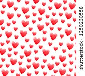 hearts pattern valentine's day... | Shutterstock . vector #1250230558