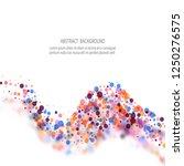 abstract vector background of...   Shutterstock .eps vector #1250276575