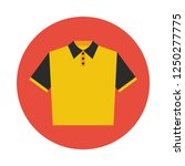 polo shirt flat icon. you can...