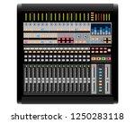 studio sound mixer. music...
