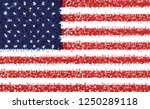 flag american for independence... | Shutterstock .eps vector #1250289118