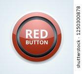 red button label illustration | Shutterstock .eps vector #1250300878