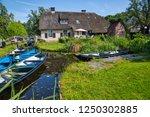 giethoorn  netherlands   july 4 ... | Shutterstock . vector #1250302885