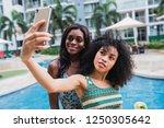modern young african american...   Shutterstock . vector #1250305642