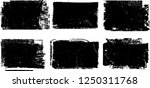grunge post stamps collection ... | Shutterstock .eps vector #1250311768