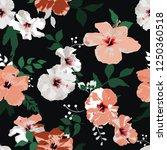 seamless floral pattern....   Shutterstock .eps vector #1250360518
