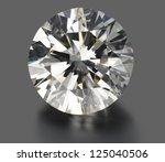 diamond   that's very big. | Shutterstock . vector #125040506