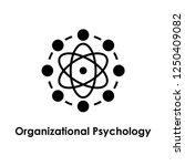 atom  organizational psychology ... | Shutterstock .eps vector #1250409082