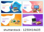 mathematics algebra and... | Shutterstock .eps vector #1250414635