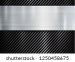 abstract metallic frame on... | Shutterstock .eps vector #1250458675