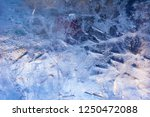the texture of the ice. the...   Shutterstock . vector #1250472088