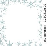 card background with snow... | Shutterstock . vector #1250510602