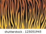 Tiger Skin Background  Animal...