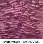 purple lizard skin pattern... | Shutterstock . vector #1250529838