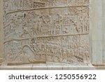 detail on trajan's column an... | Shutterstock . vector #1250556922
