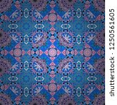 seamless pattern luxury... | Shutterstock .eps vector #1250561605