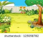 illustration of a beautiful...   Shutterstock . vector #125058782