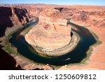horseshoe bend original clear...   Shutterstock . vector #1250609812