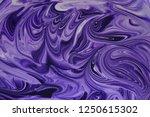 marbling artwork pattern in... | Shutterstock . vector #1250615302