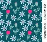 color vector seamless pattern... | Shutterstock .eps vector #1250624155