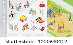 Isometric Kids Playground...