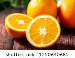 minnan navel orange | Shutterstock . vector #1250640685
