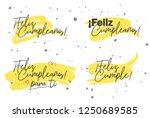 set of celebratory labels... | Shutterstock .eps vector #1250689585