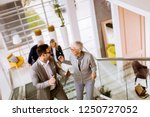 group of businessmen and... | Shutterstock . vector #1250727052